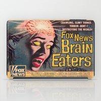 Fox News Brain Eaters iPad Case