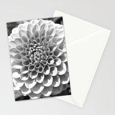 B&W Dahlia Stationery Cards