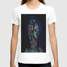 Vines and Confines  Womens Fitted Tee White SMALL