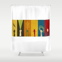 Justice Shower Curtain