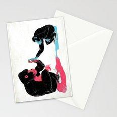 Monkey See Monkey Do Stationery Cards