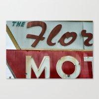 Flo Mo Canvas Print