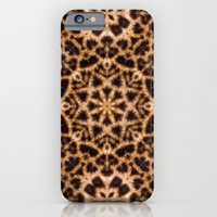 Leopard Fur Abstract Kaleidoscope Print iPhone 6 Slim Case
