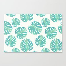 Vintage leaves Canvas Print