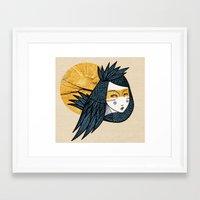 Indian bird Framed Art Print