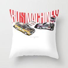 80's Machines Throw Pillow
