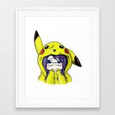 Onesie Framed Art Print