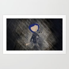 Coraline Minimalist Art Print