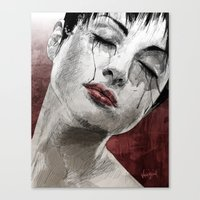 Venom and Tears Canvas Print