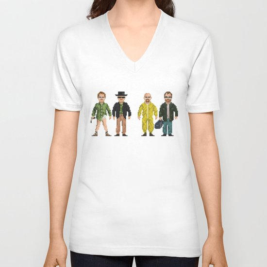 Walter Hartwell White V-neck T-shirt