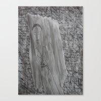 Canvas Print featuring The Reader by Tara Bateman