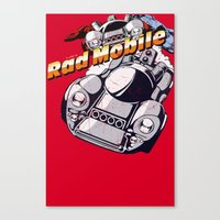 Rad Mobile Canvas Print