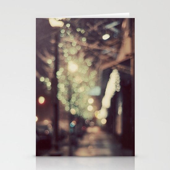 Stardust Stationery Card