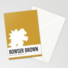 No38 My Minimal Color Code poster Bowser Stationery Cards
