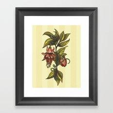 Vintage Flower (2) Framed Art Print
