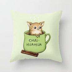 Chaihuahua Throw Pillow