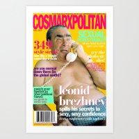 COSMARXPOLITAN, Issue 10 Art Print