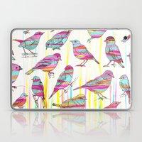 Birds Seen Rainbow Laptop & iPad Skin