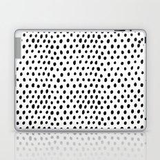 Polka dot rain Laptop & iPad Skin