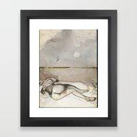 E-nude Framed Art Print