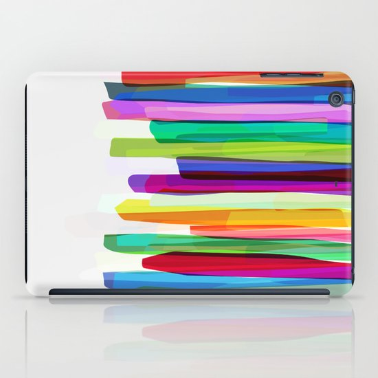 Colorful Stripes 2 iPad Case