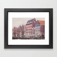 Amsterdam Love Framed Art Print