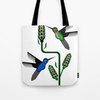 Geohummingbirds Tote Bag