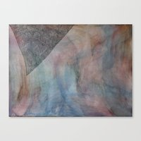 Canvas Print featuring The Lines on a Dragon's Tooth' by Tara Bateman