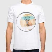 The Mirage Mens Fitted Tee Ash Grey SMALL