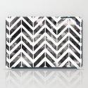 Brush Chevron iPad Case