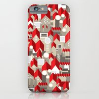 Red Roofs iPhone 6 Slim Case