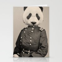 Panda Supremacist Stationery Cards