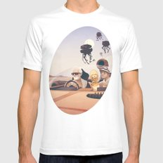Fear and Loathing on Tatooine Mens Fitted Tee White SMALL