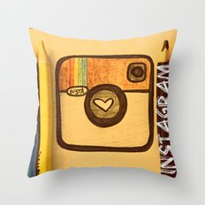 For Instagram Lovers ;) Throw Pillow