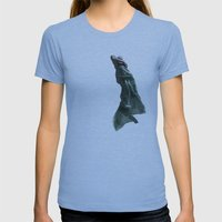 occupy Womens Fitted Tee Athletic Blue SMALL