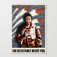 The Resistance Needs You Again! Canvas Print