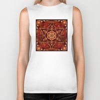 Meditation in Copper Biker Tank