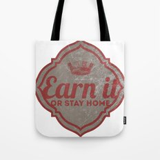 Earn It E-dub Tote Bag