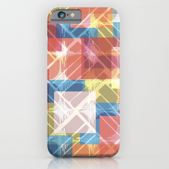 squares n holes... iPhone & iPod Case