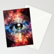 Quantum space Stationery Cards