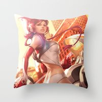 Pepper Delivery Throw Pillow