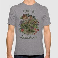 Grow A Garden Mens Fitted Tee Athletic Grey SMALL