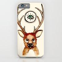 All-seeing Deer iPhone 6 Slim Case