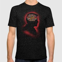 Castiel's Phrenology Mens Fitted Tee Tri-Black SMALL