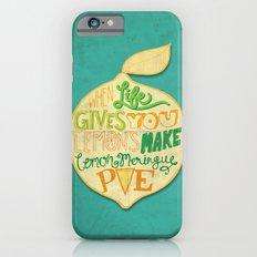 Lemon Meringue Pie iPhone 6 Slim Case
