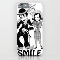 iPhone & iPod Case featuring Charlie Smile by AnaMF