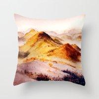 Vorarlberg In Austria Throw Pillow