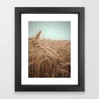 Farm Charm Framed Art Print