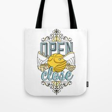 Harry Potter – I Open At The Close Tote Bag