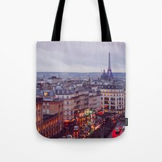 Rainy Paris. Tote Bag